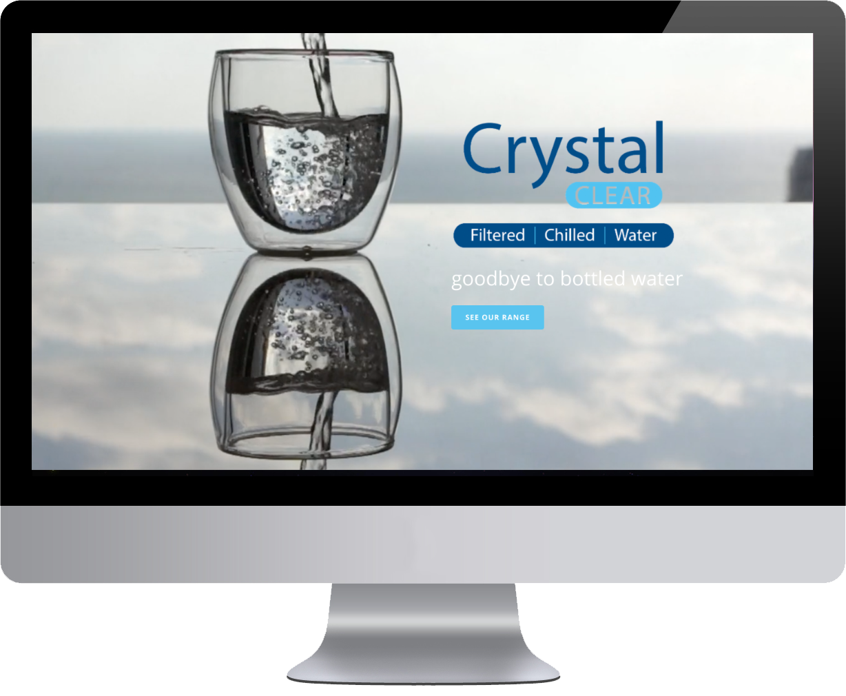 watercooler website designed and built by clare web design